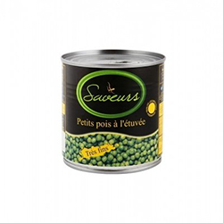 STEAMED PEAS 400 GR
