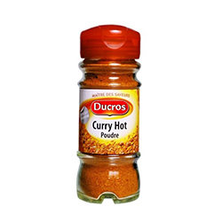 CURRY HOT 45G FLACON DUCROS