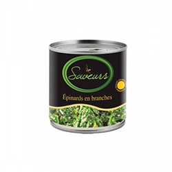 Epinards en branches 380 gr