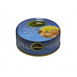 Meat Tuna chunks in Sunflower Oil 160 GR